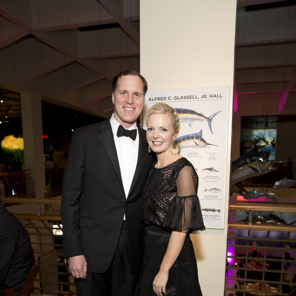 Museum of Natural science gala, March 2016, Henry Bragg, Laurence Bragg