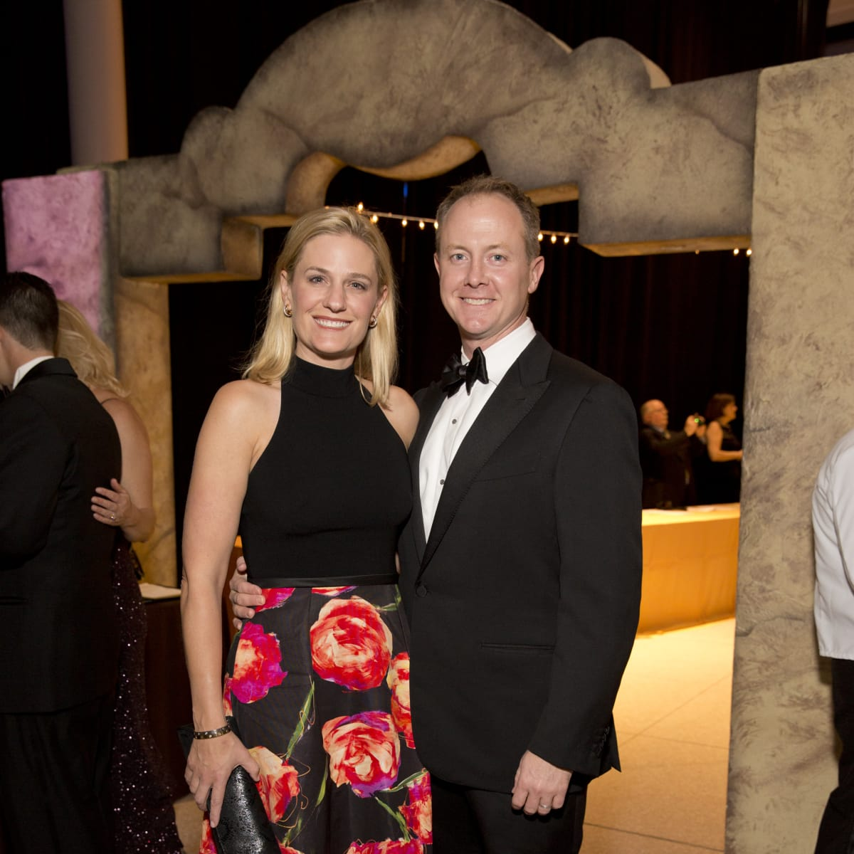 Museum of Natural Science Gala, March 2016, Christie McCartney, Billy McCartney