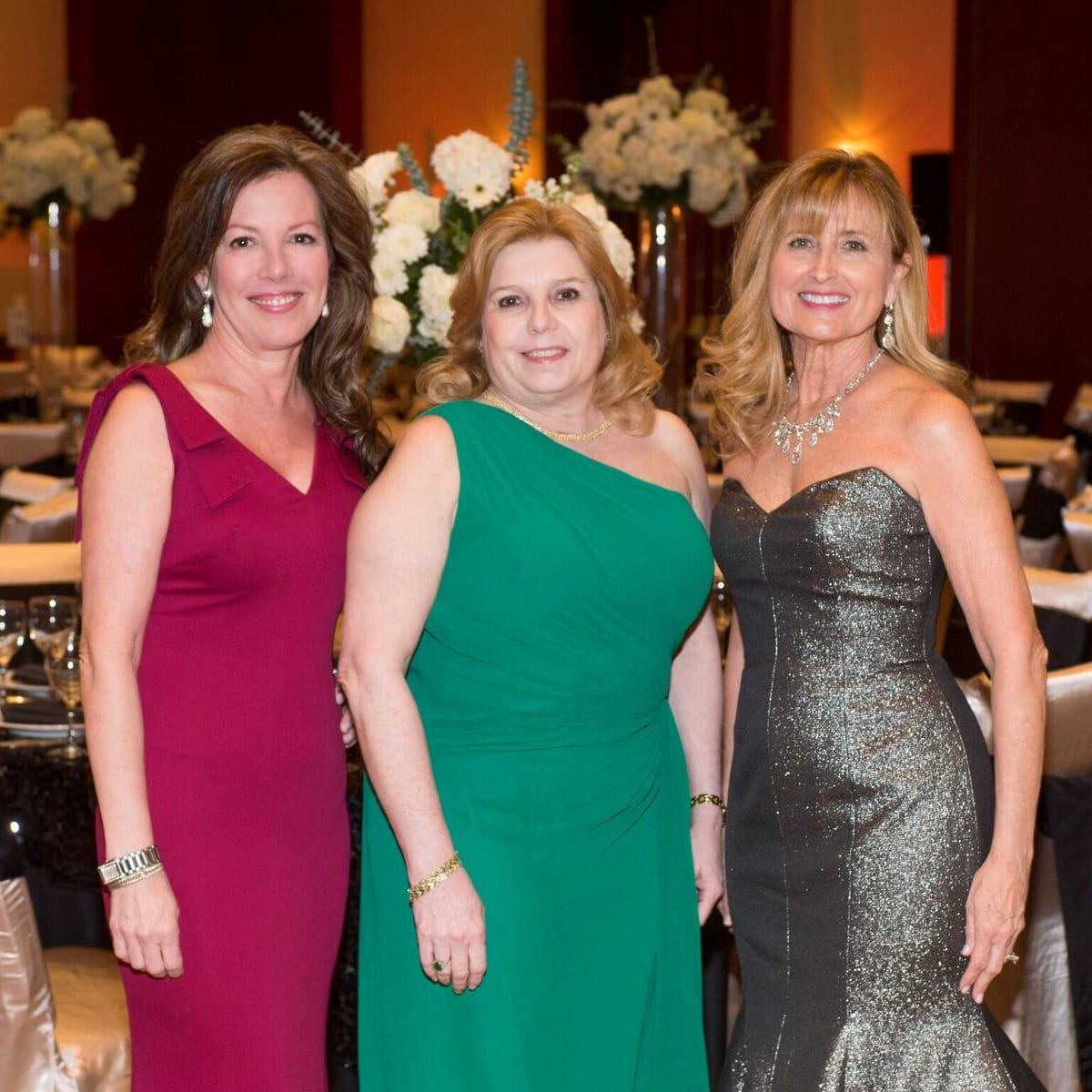 Covenant House Gala, March 2016, June Reeder Leppard, Patti Turner, Marlene Nondorf