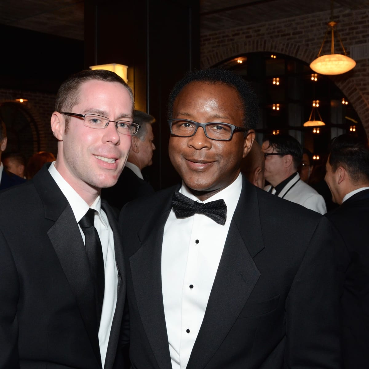 Adam Haiduk, MD and William Howard at Stages Gala