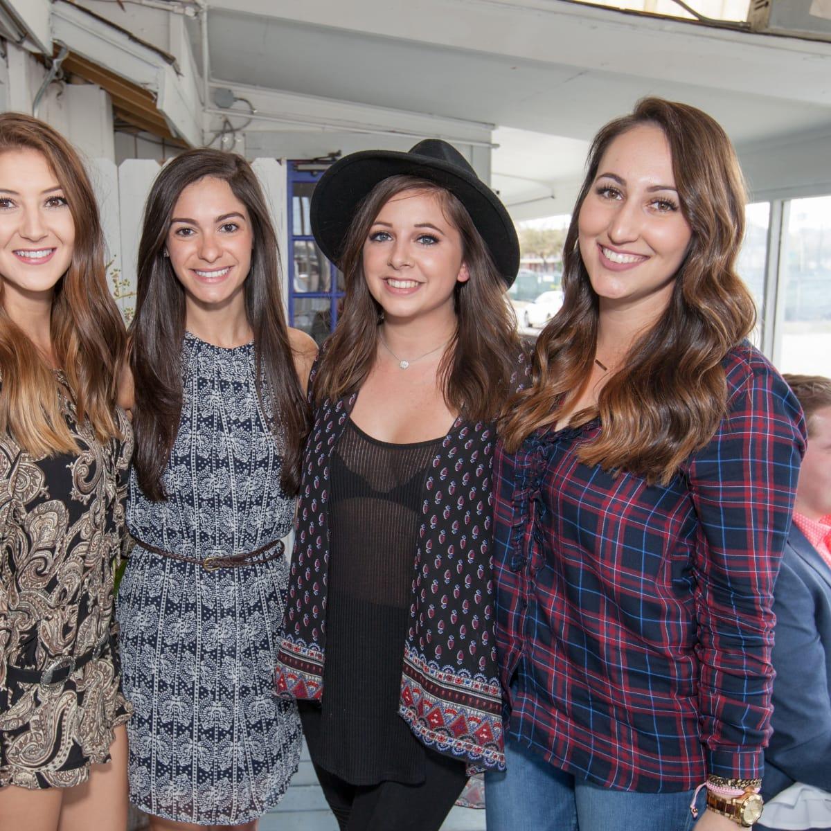 Durham House brunch, March 2016, Lauren Leal, Rachel Remington, Sara Malloy, Allison Reynolds