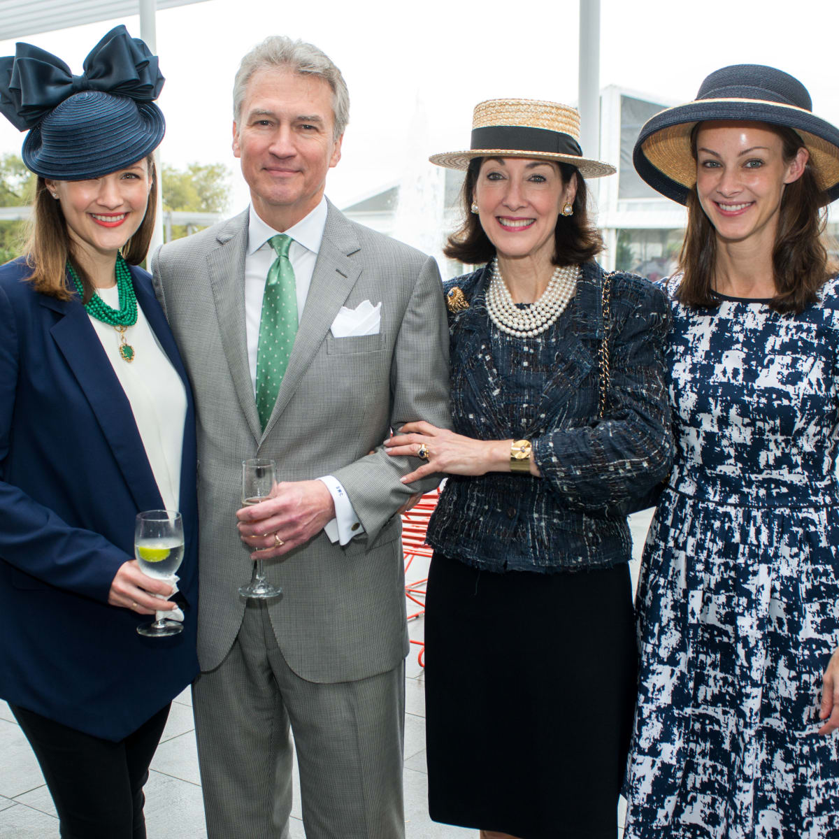 Hats in the Park, March 2016,  Annie Eifler, Sanford & Susie Criner, Kate Bellin