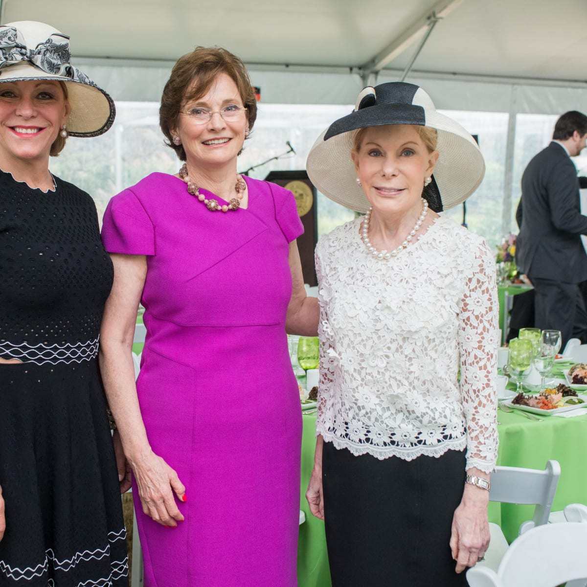 Hats in the Park, March 2016, Franci Neely, Bobbie Nau, Frances Marzio
