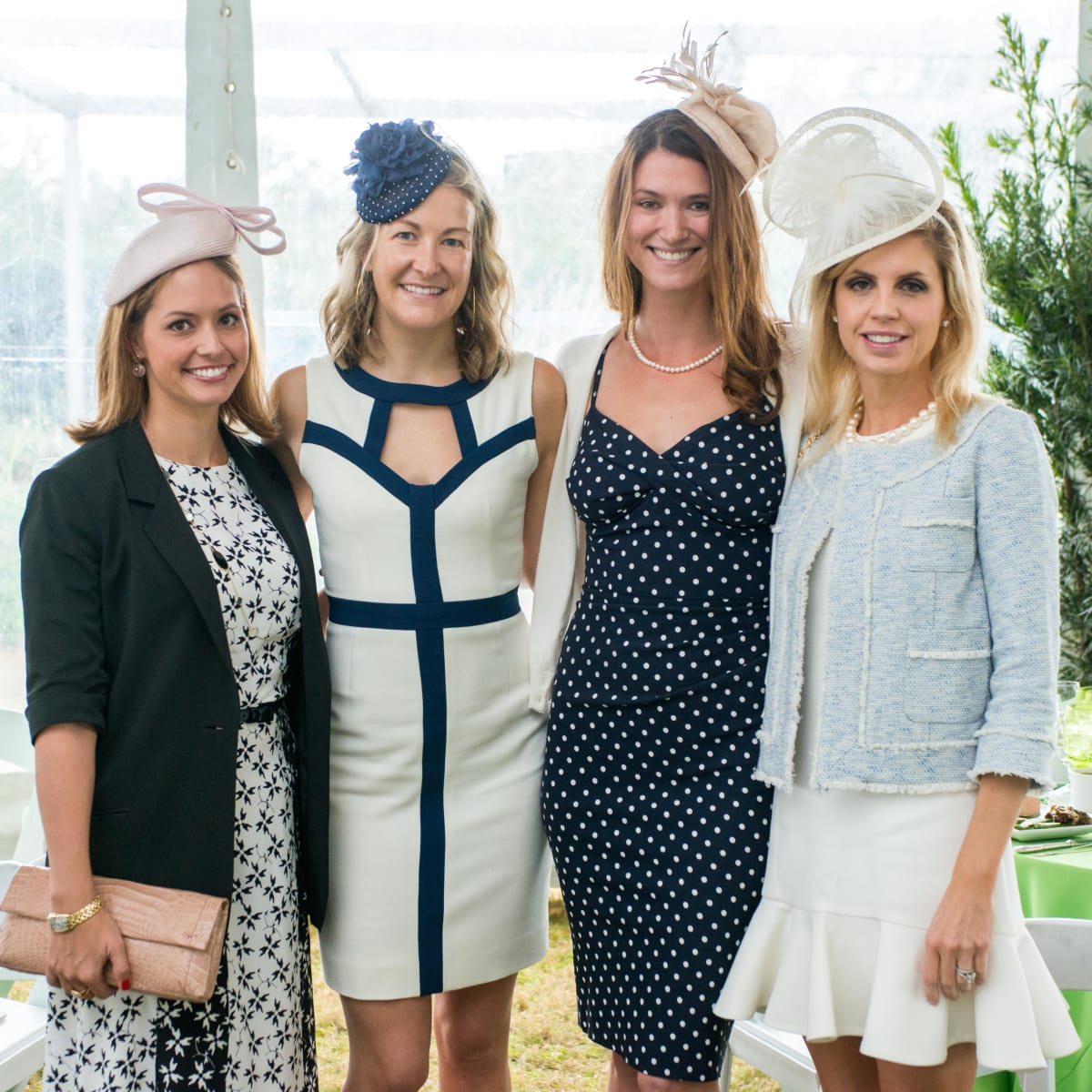 Hats in the Park, March 2016,Linsey Looke, Melissa Tuckerman, Brittany O'Brien, Meredith Monrad