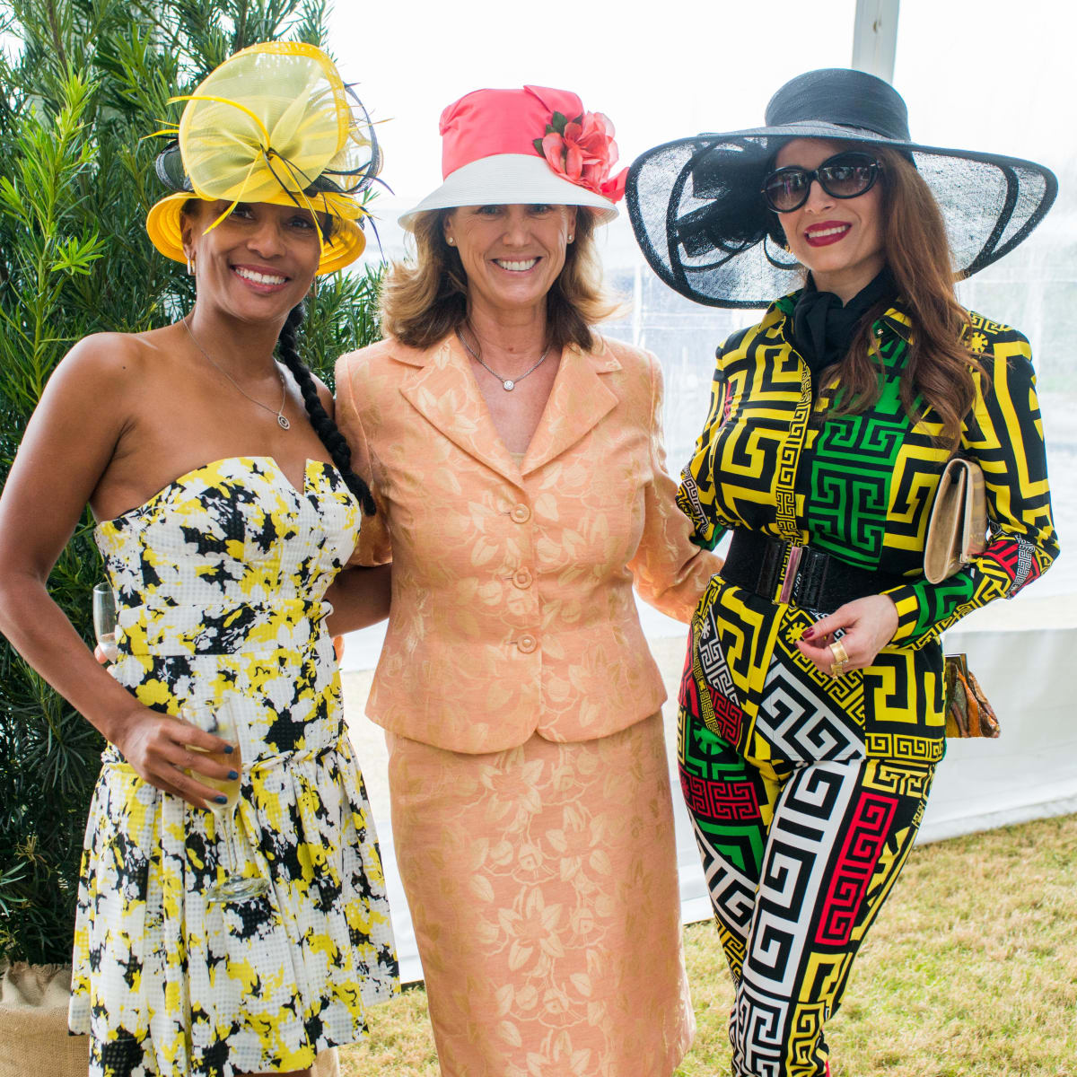 Hats in the Park, March 2016, Jackie Fair, Barbara Alesamit, Karina Barbieri