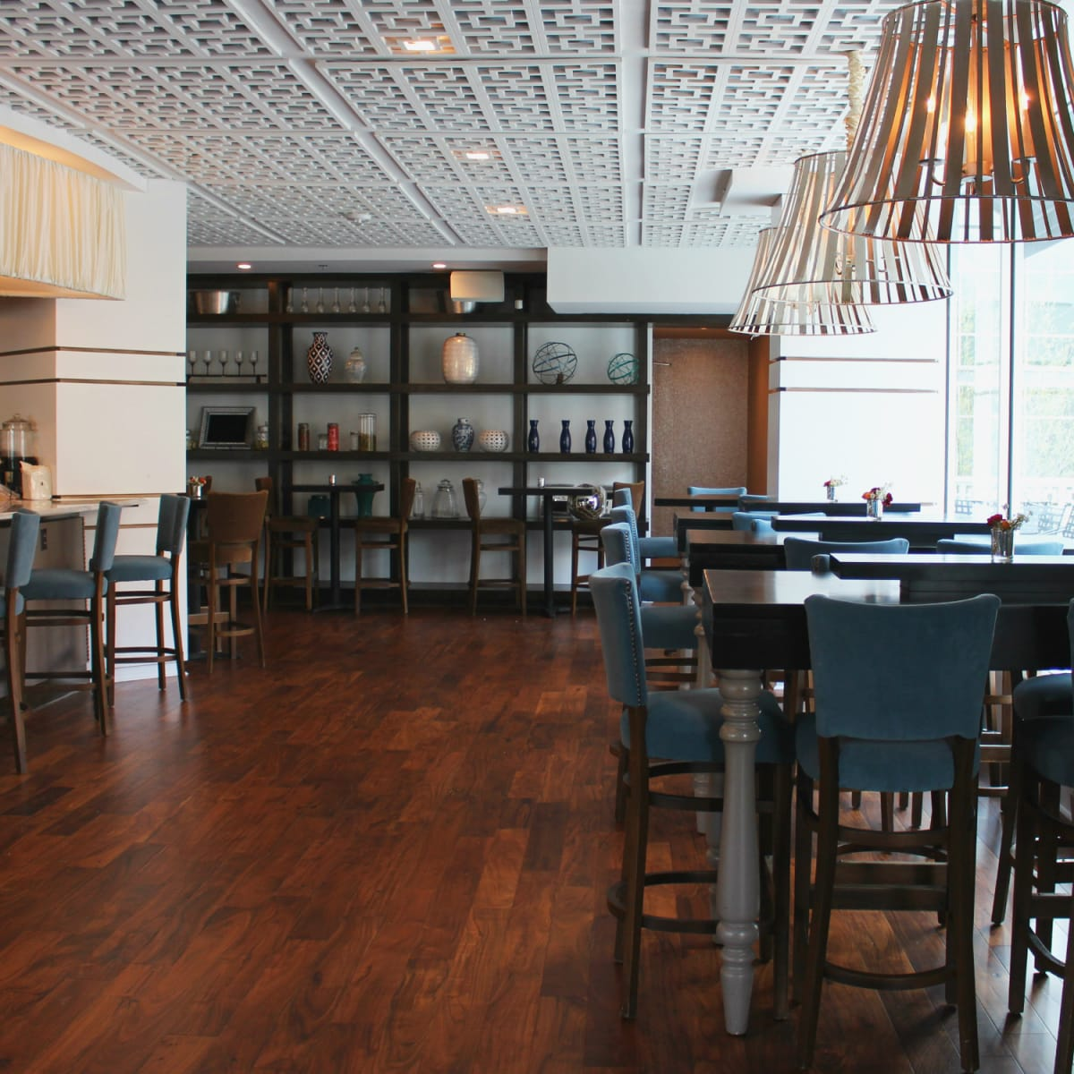 St Genevieve Austin bar Rock Rose March 2016 interior