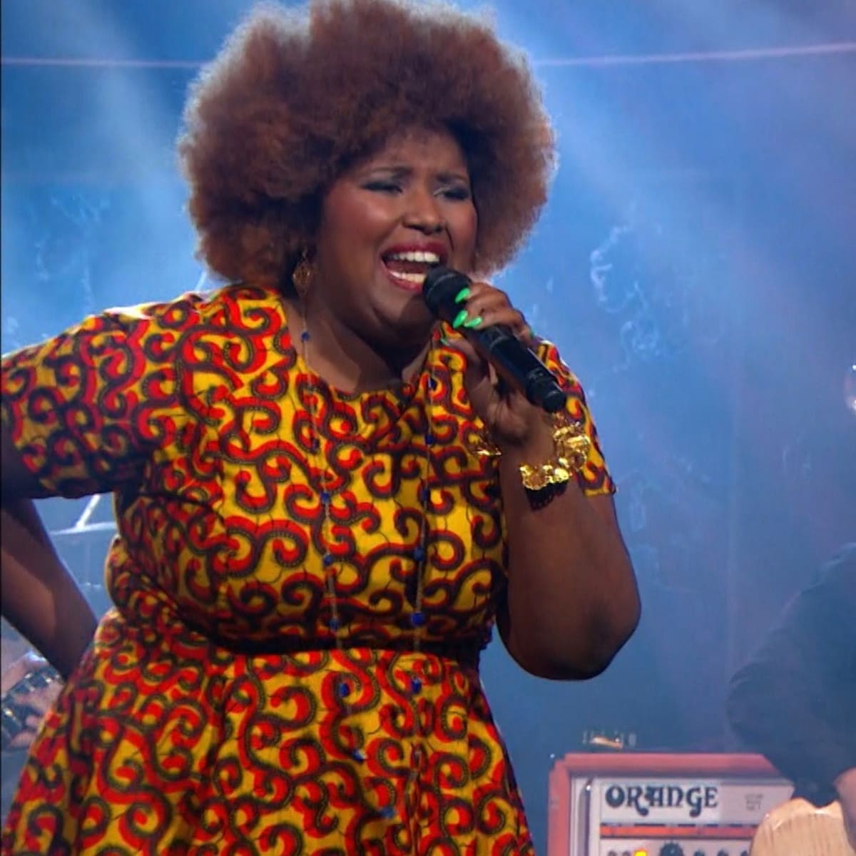 Kam Franklin and The Suffers on The Daily Show