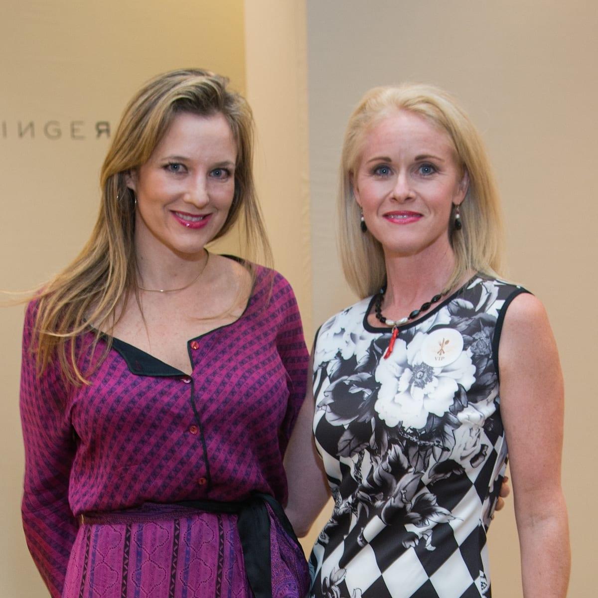 Sally Lechin, Christine Tabrizihoriz at Dress for Dinner