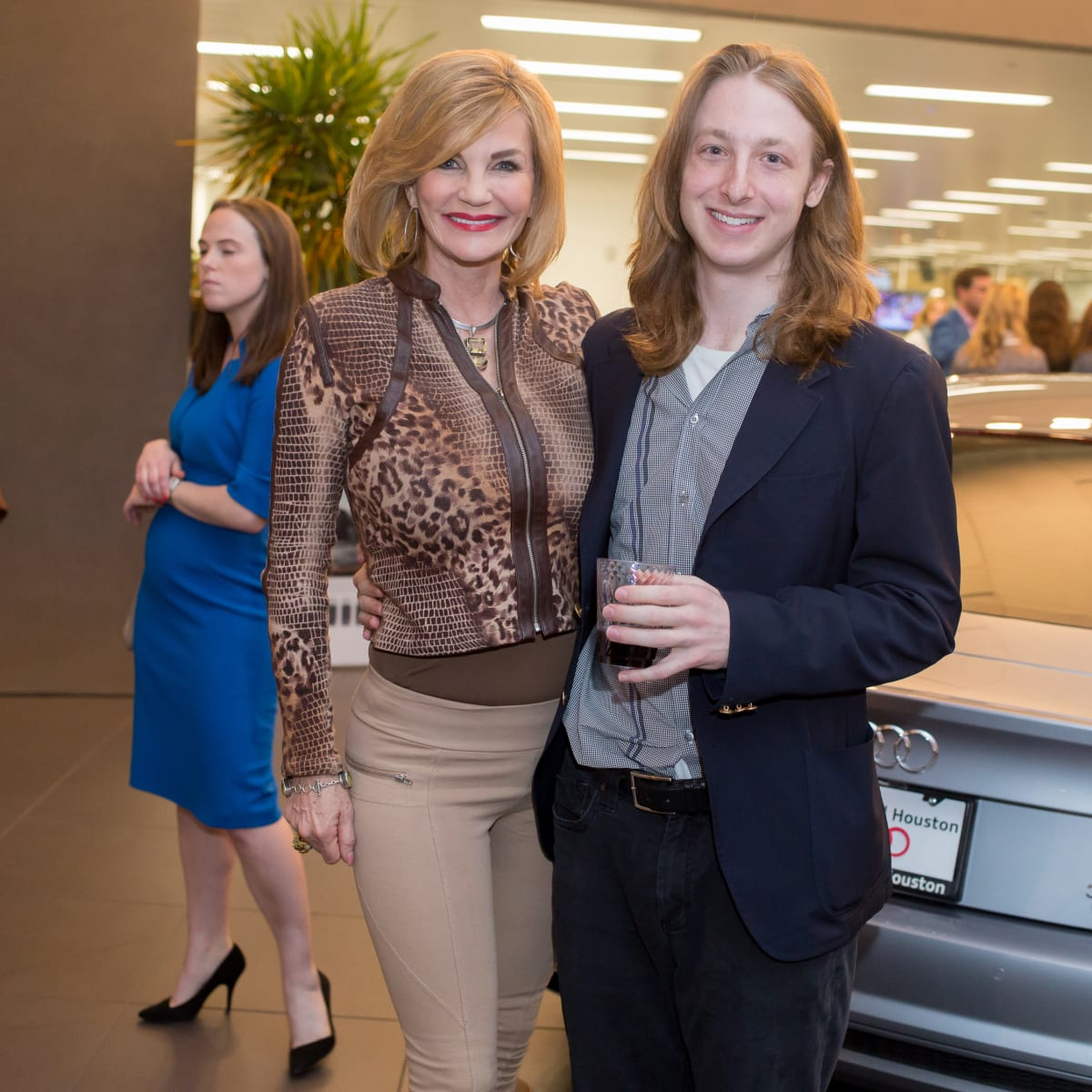 Cattle Baron's Fashion Show, March 2016, Diane Cain, Jason Calvin