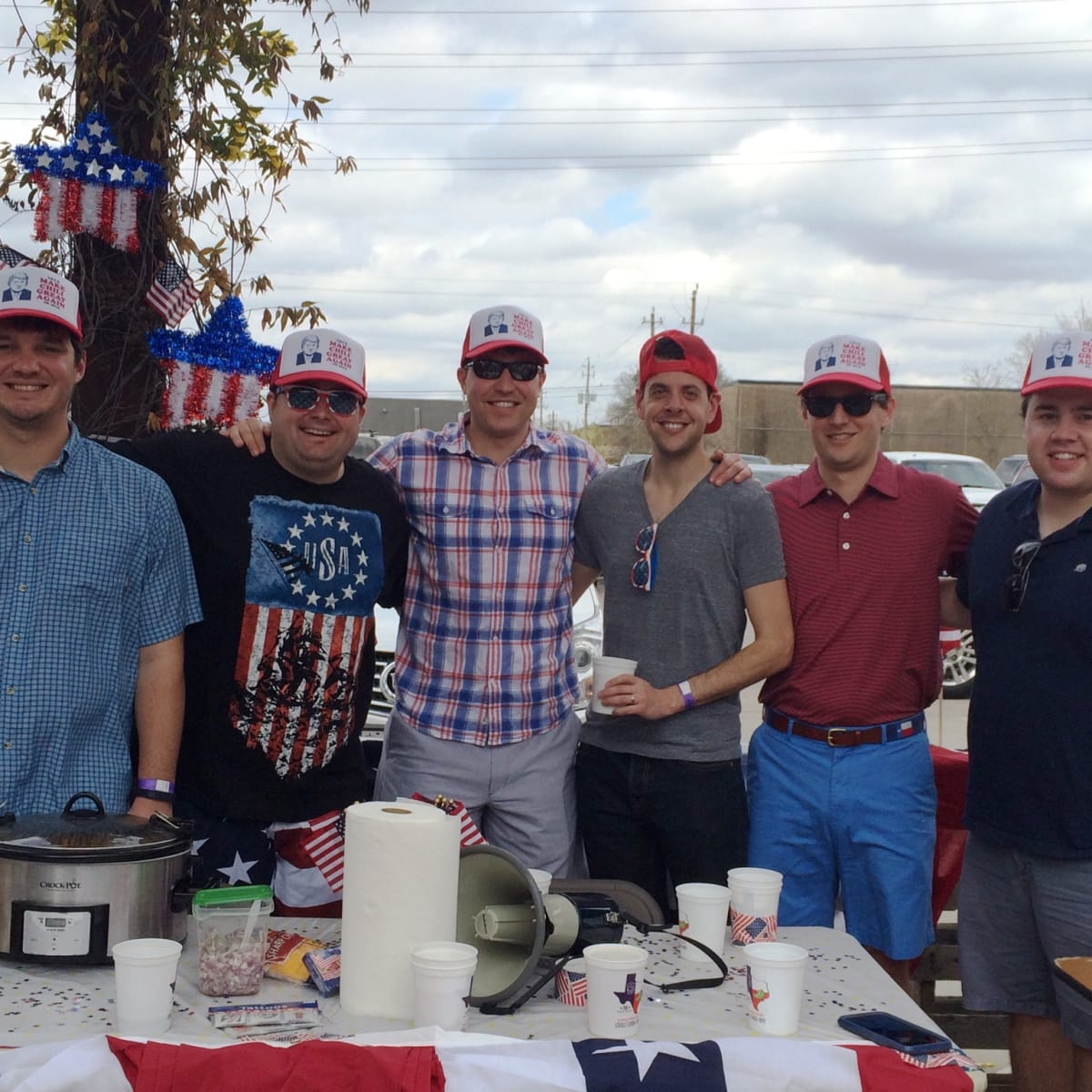 Casa de Esperanza chili cook-off, March 2016, Boran Buturovic, Blake Aston, Mikey Gough, Seth Hurwitz, Paul Ribe, Will Speer