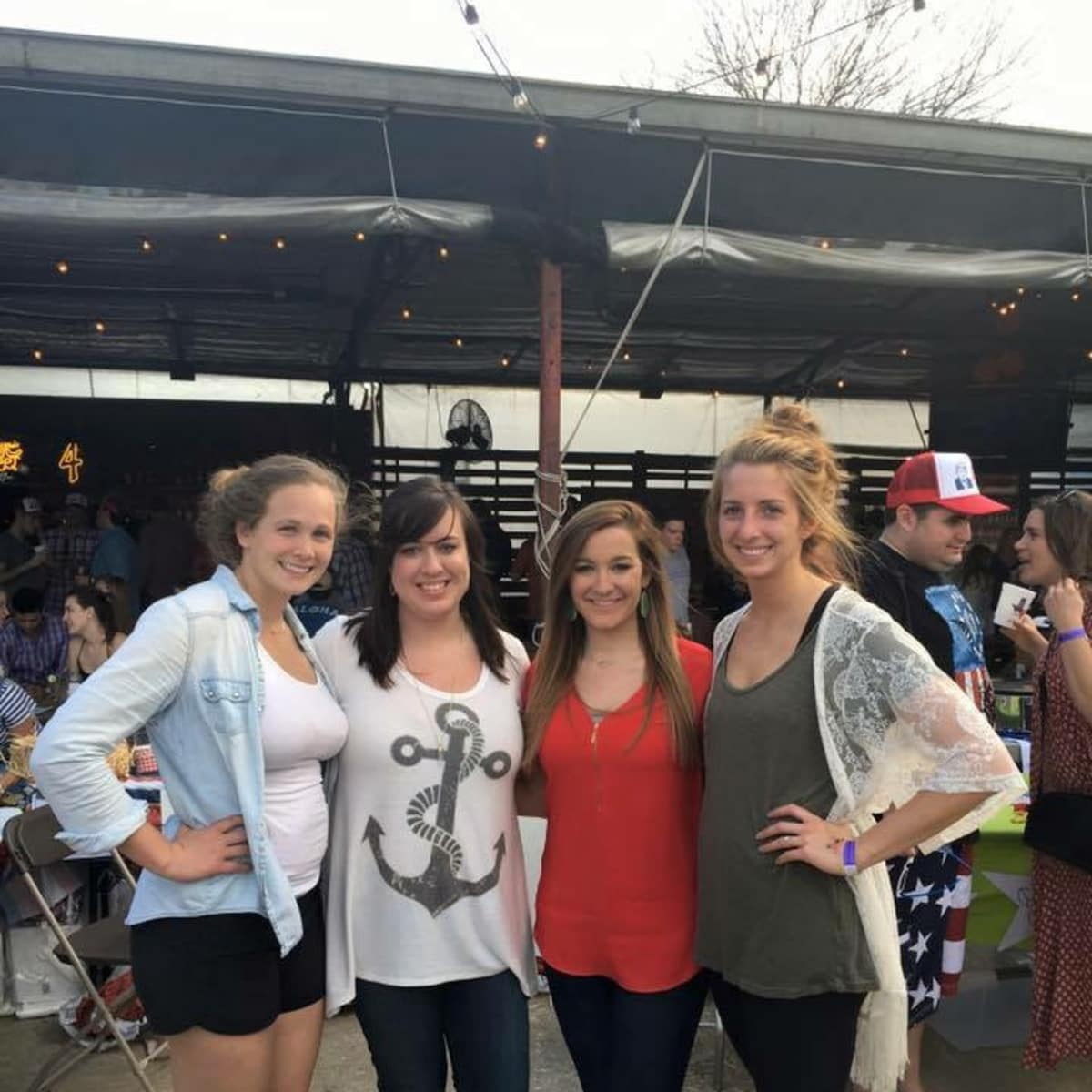 Casa de Esperanza chili cook-off, March 2016, Heather Darr, Sarah Owens, Ally Hatz, Becca Elise
