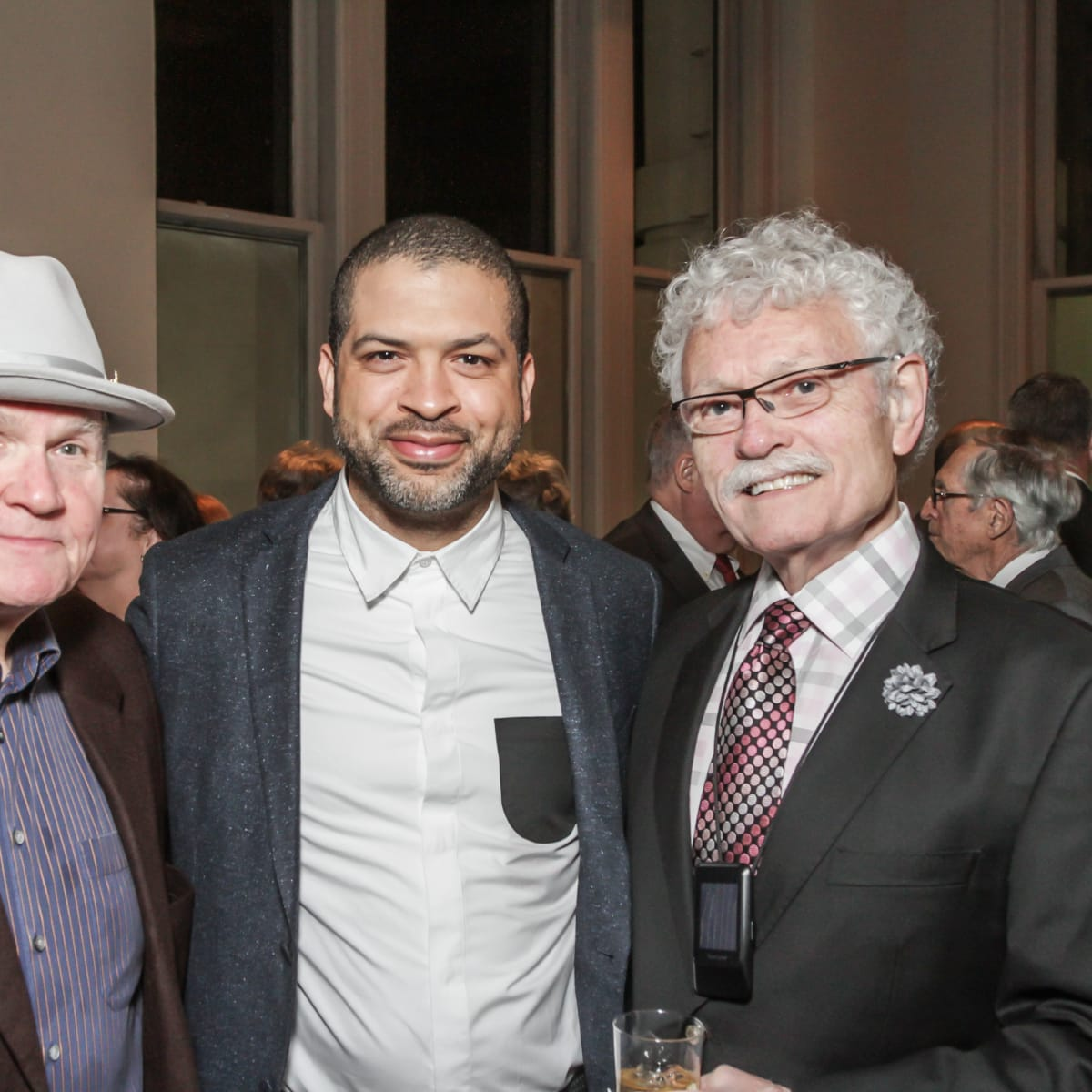 Bruce Stram, Jason Moran, Bob Morgan at Club da Camera