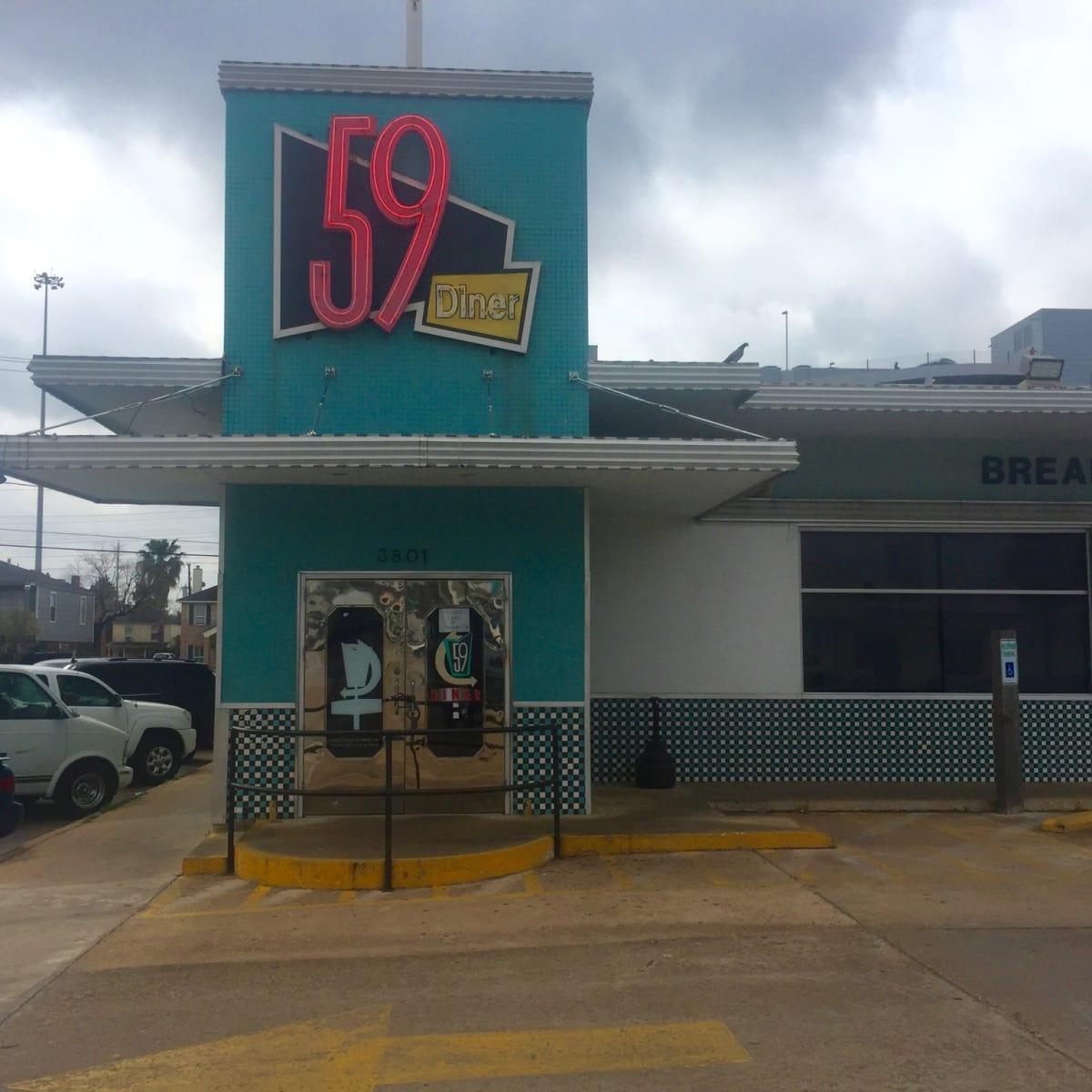 59 Diner closed