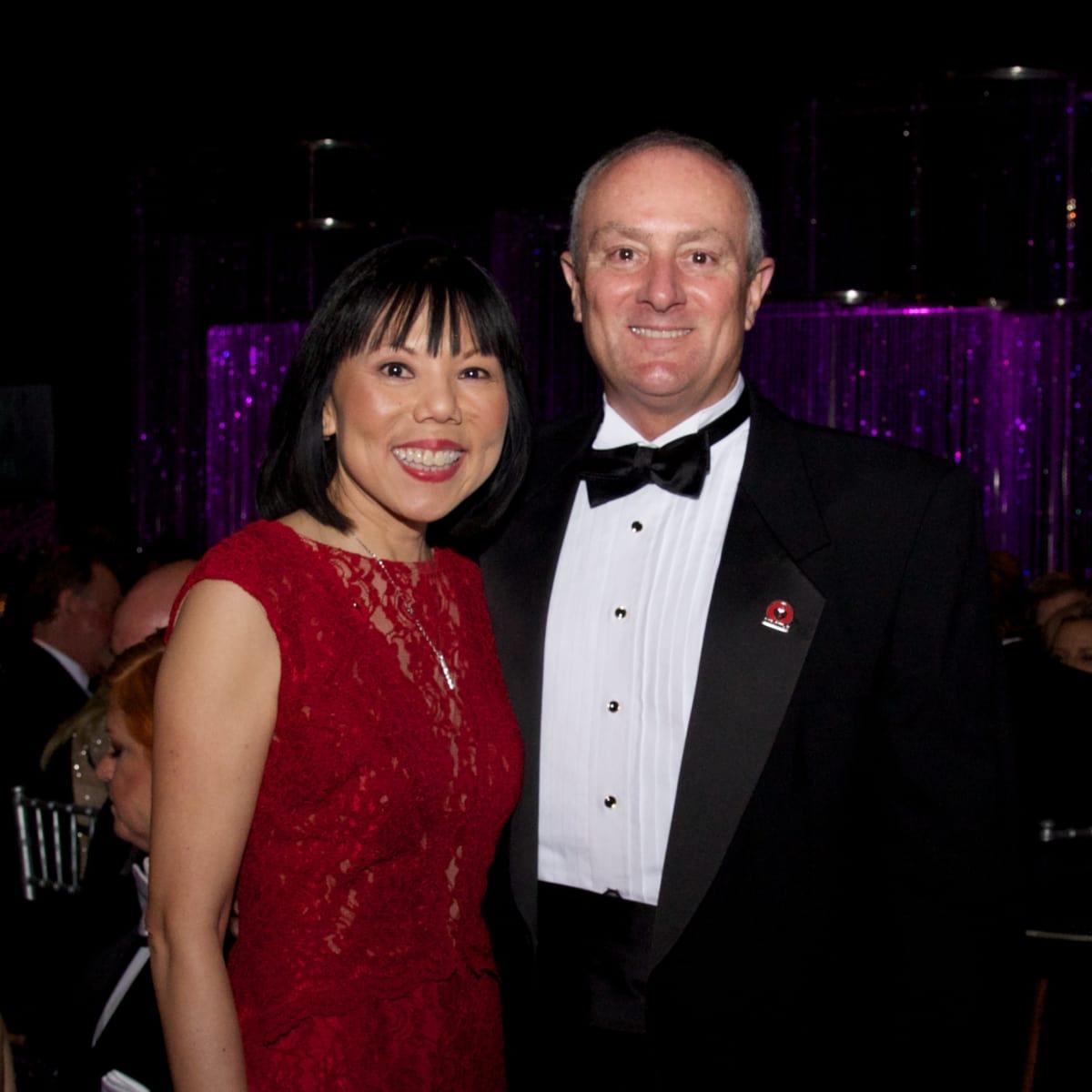 Montgomery County Heart Ball, Feb. 2016, Janet Wong, Ron Mullins