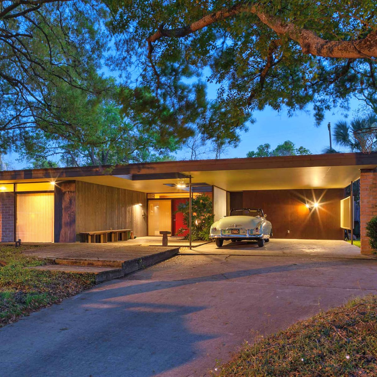 Cornerstone Dinner, Feb. 2016, Martha and Steve Curry home designed by Lars Bang, 1953