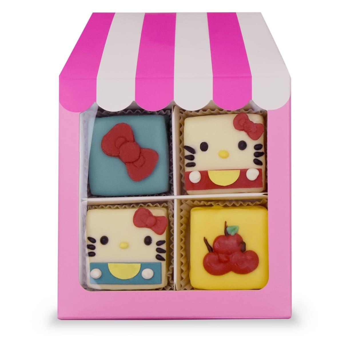 Hello Kitty Cafe truck mini cakes