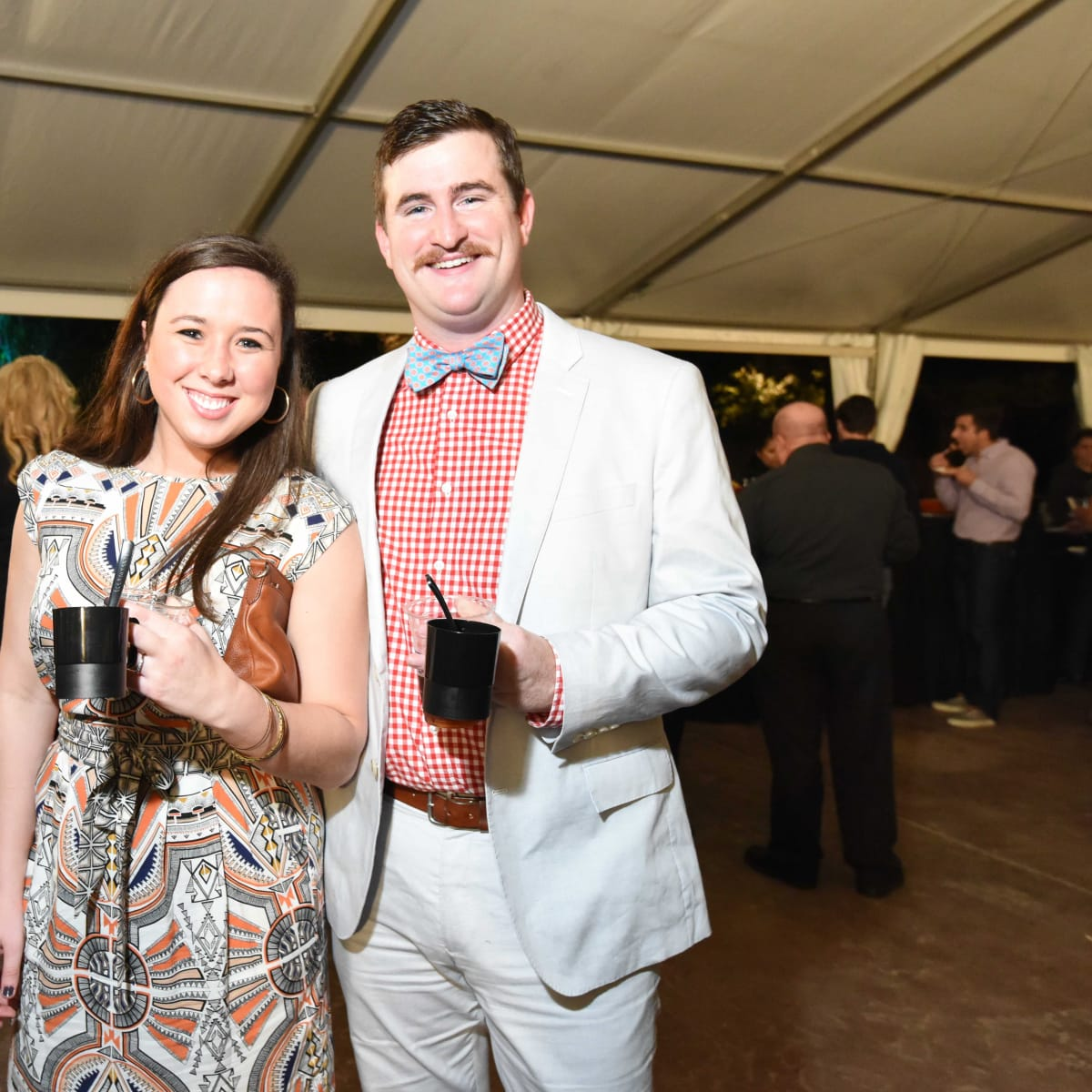 Houston Zoo Ambassadors Gala Kim Reiff, Eamon Kelly