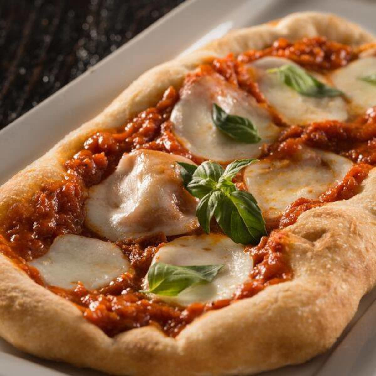 The Tuck Room margherita pizza