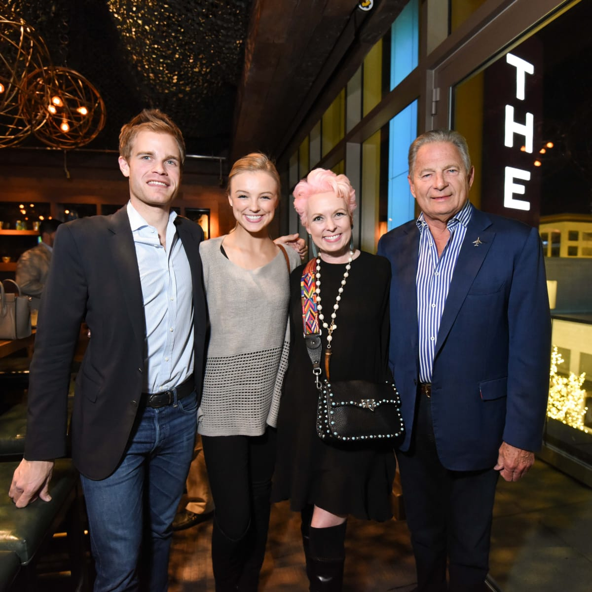 Heart of Fashion at the movies, Feb. 2016 Nick Boulle, Taylor Johnson, Vivian Wise, Charles Ward