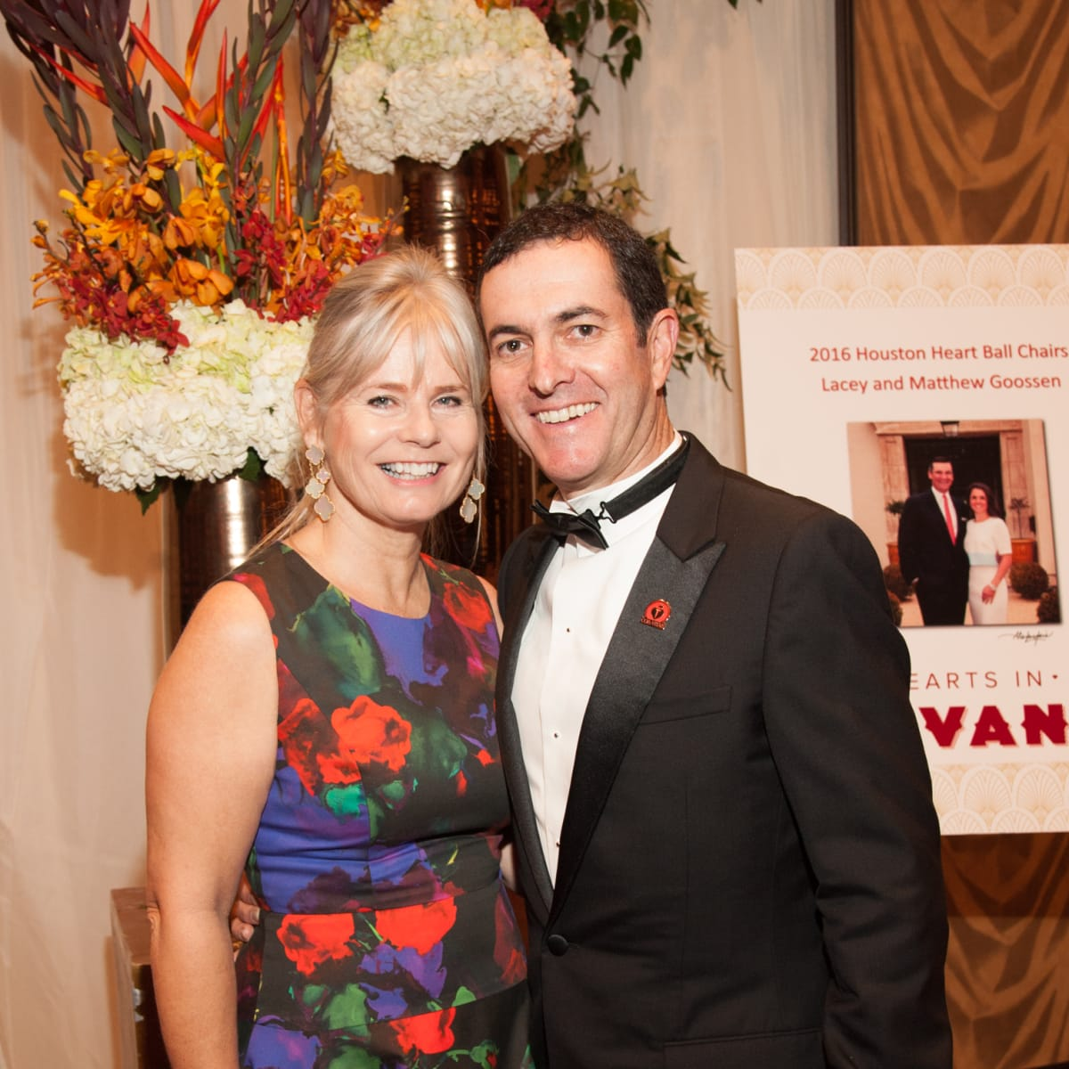 Heart Ball, Feb. 2016, Catherine Popeau,  Jean-Francois Popeau