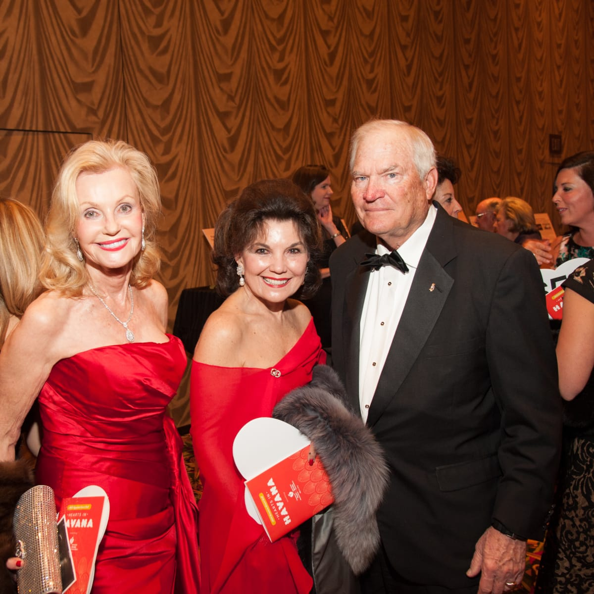 Heart Ball, Feb. 2016, Pat Breen, Linda McREynolds, Dr. Walter McReynolds
