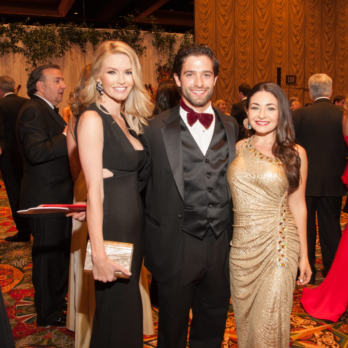 Heart Ball, Feb. 2016, Amanda Weiser, Chad Solomon, Bella Barak