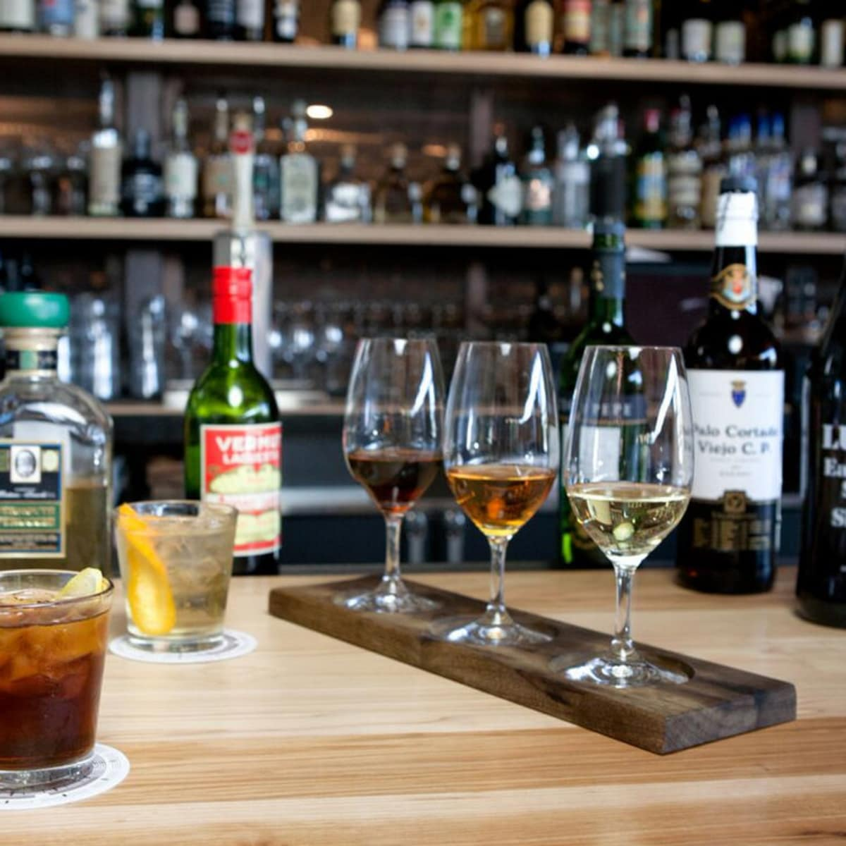 Parkside Projects Beverage Series series sherry wine