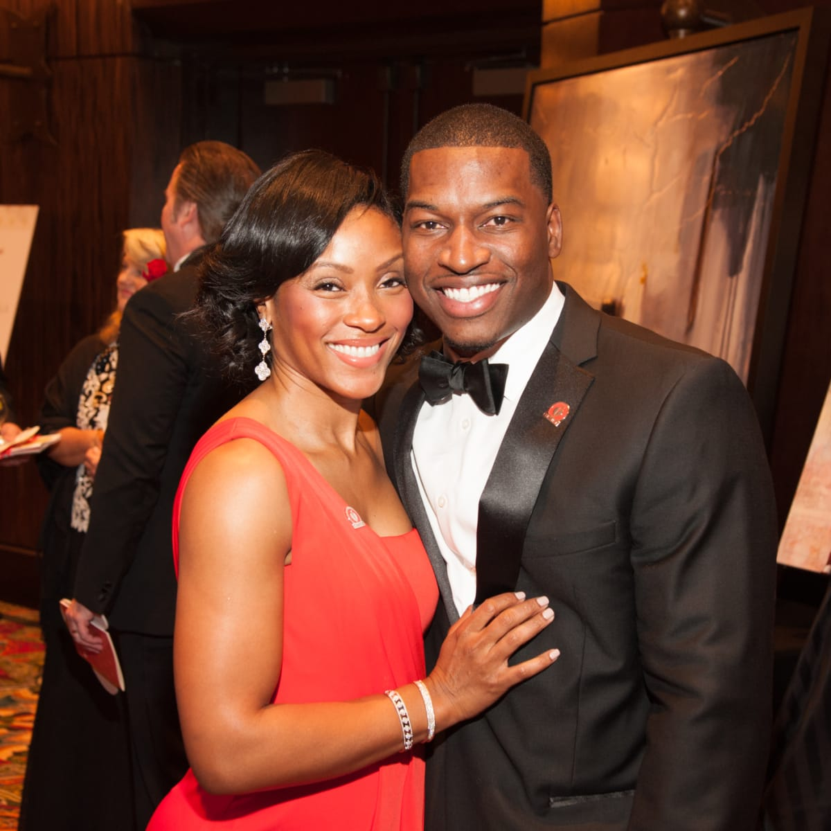 Heart Ball, Feb. 2016, Shamika Johnson, Melvin Johnson