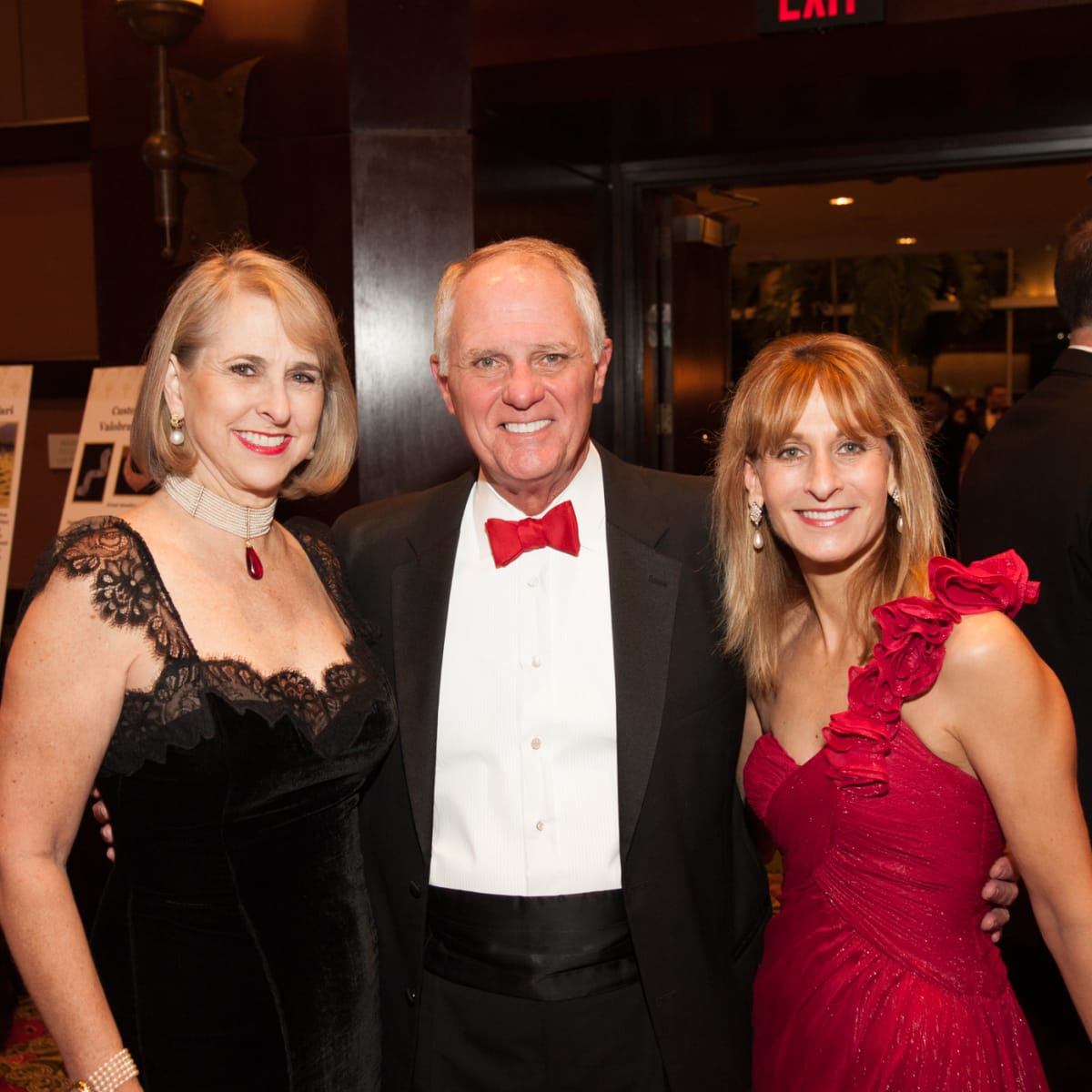 Heart Ball, Feb. 2016, Susan Hansen, Dick Hansen, Midge LaPorte Epstein