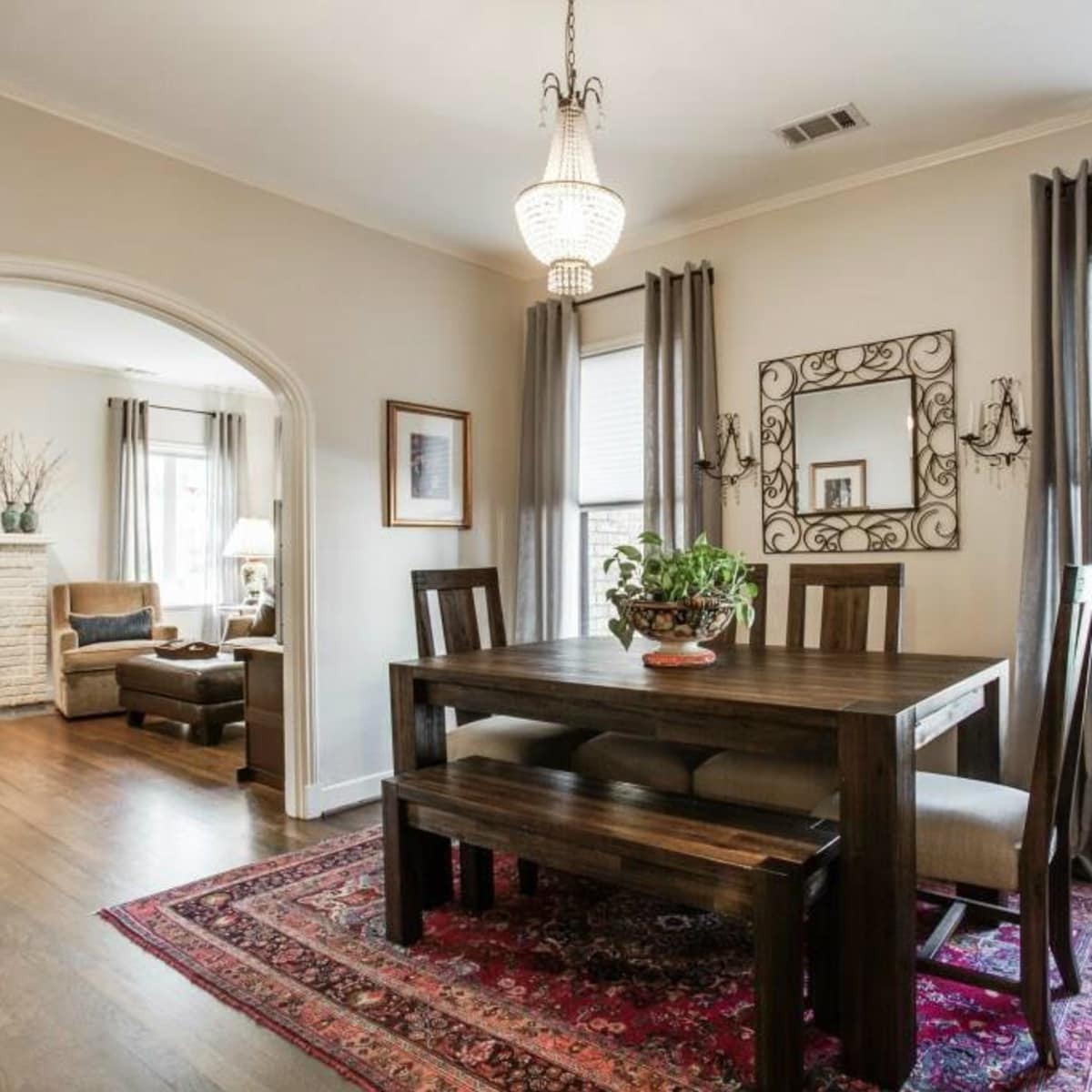 522 Monte Vista dining room