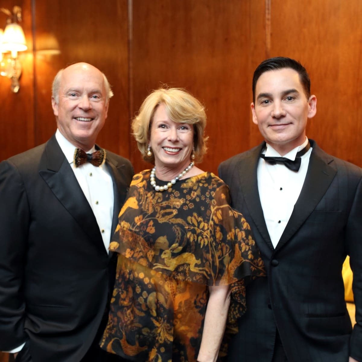 Denali Foundation gala, Feb. 2016, Bill Wise, Marie Wise, Joby Graydon