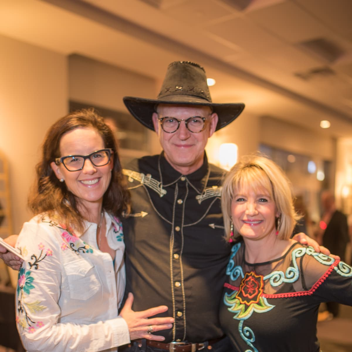 Parish School Gala, Feb. 2016Jennifer Wismer, Bob Wismer, Stacey Merchant