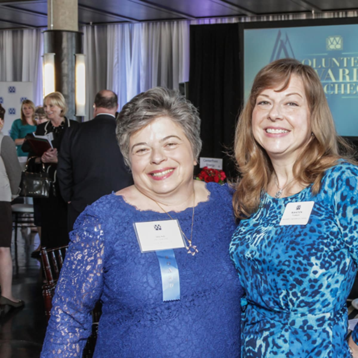 Greater Houston Women's Chamber of Commerce luncheon, Feb. 2016,Irene Helsinger, Kristen Turner
