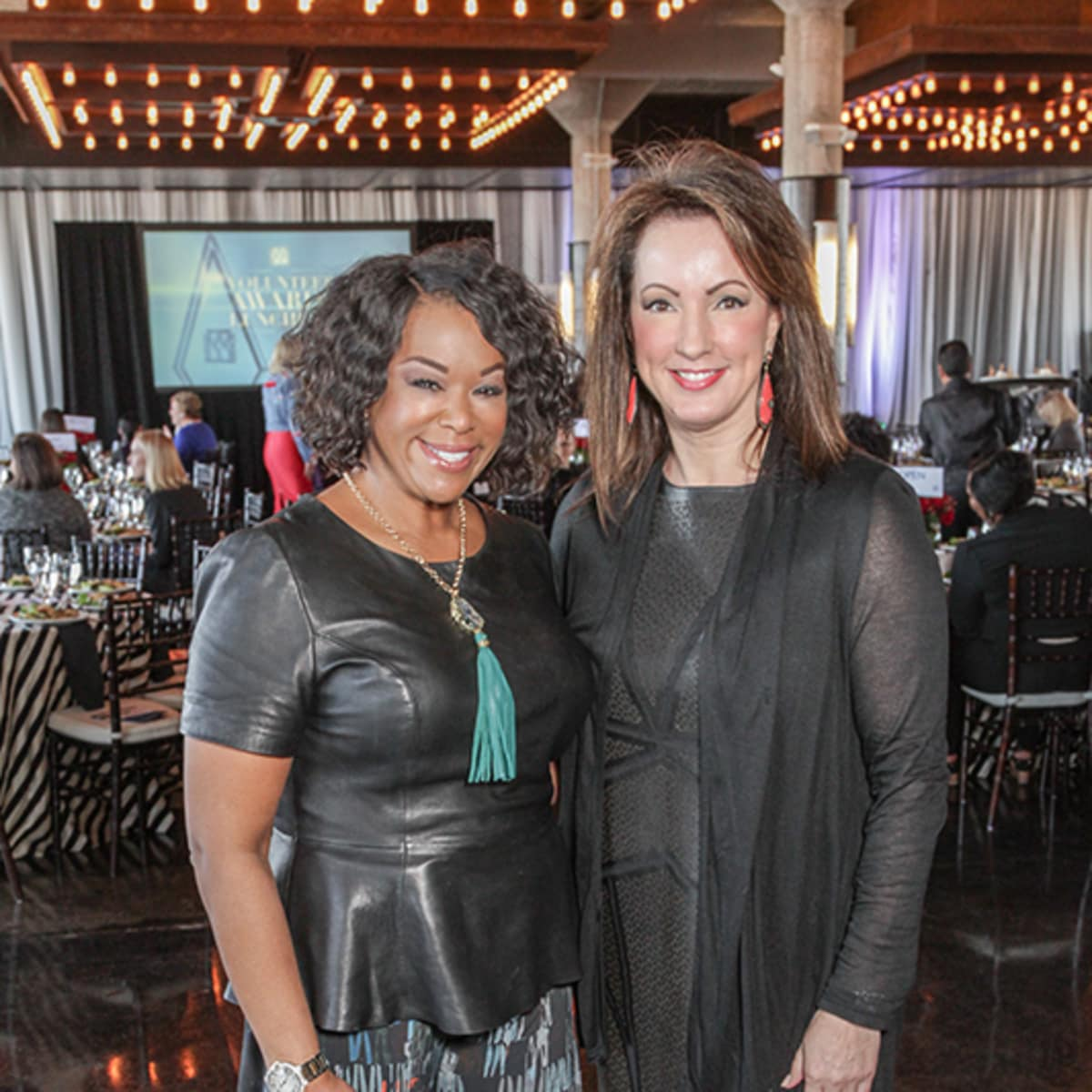 Greater Houston Women's Chamber of Commerce luncheon, Feb. 2016, Deborah Duncan, Alicia Smith