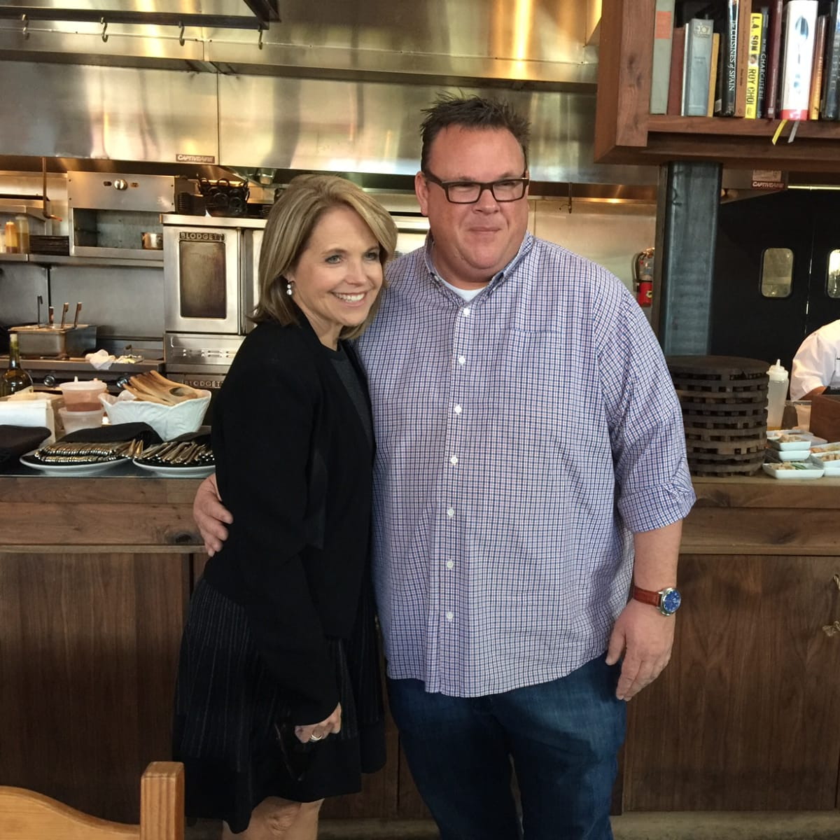 Katie Couric, Chris Shepherd at Underbelly, Feb. 2016