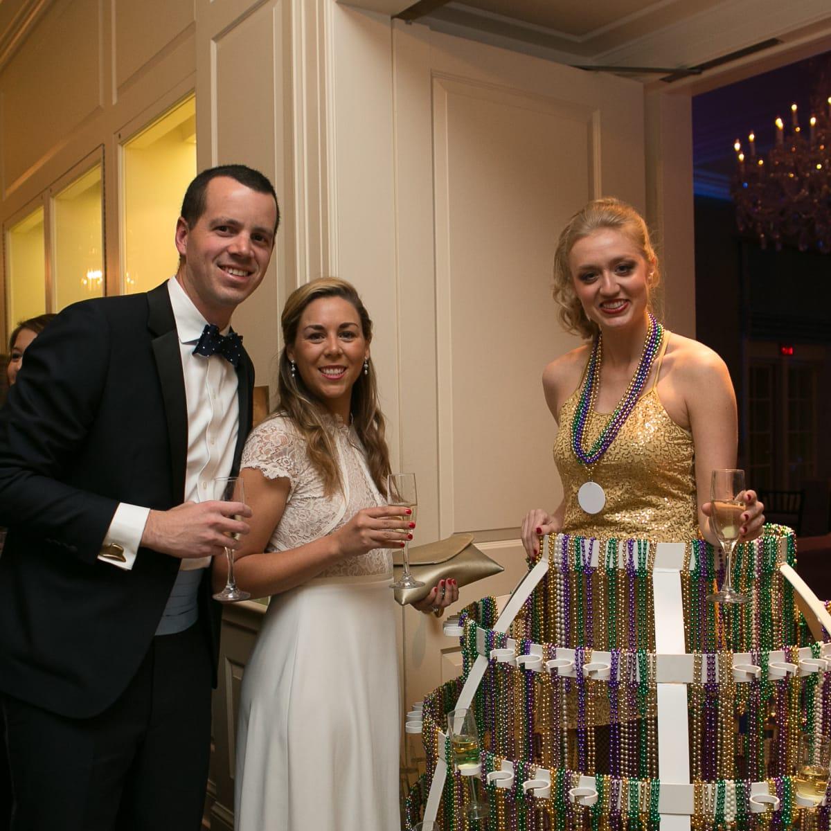 Junior League Gala, Feb. 2016, Oliver Tenhoeve, Julia Tenhoeve