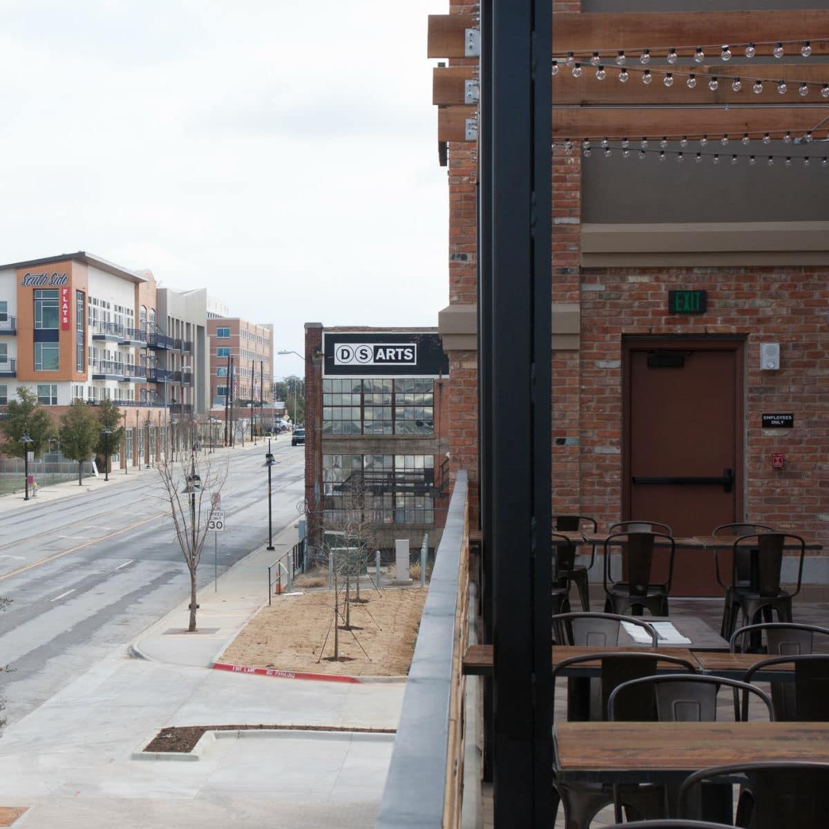 Patio at Alamo Drafthouse Dallas