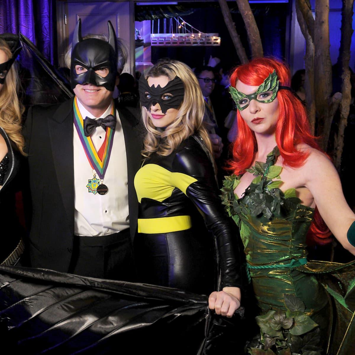 San Luis Salute, Feb. 2016, George Lugrin and Superheroes