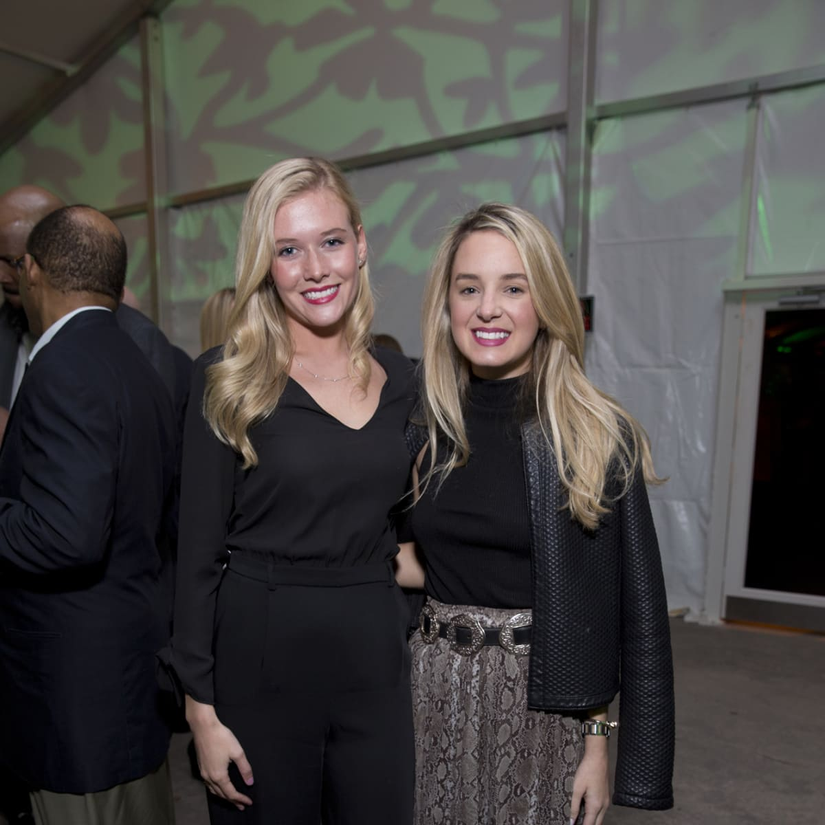 Memorial Park Conservacy Gala, Feb. 2016, Farrell Lawo, Holly Kuhn