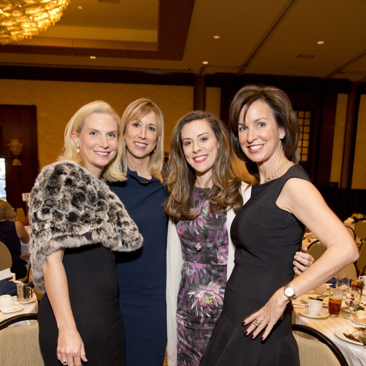 Bo's Place Luncheon, Feb. 2016, Ashley Pradka, Caroline Finkelstein, Anna Claire Hankamer, Julie Oliver