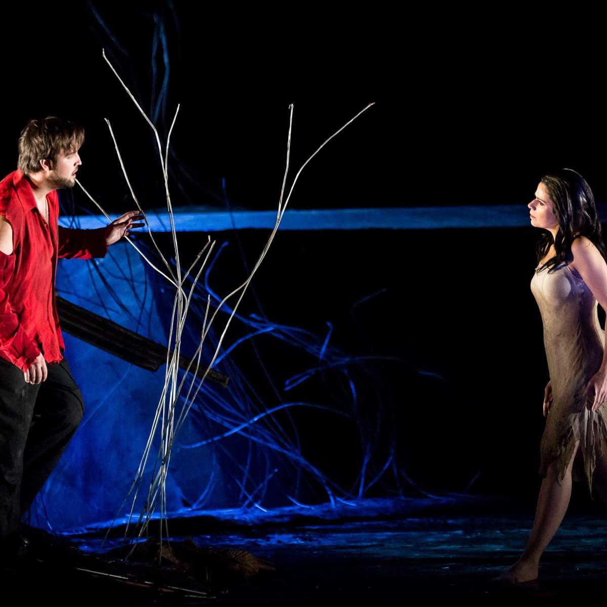 Brian Jagde and Anna Maria Martinez in Rusalka