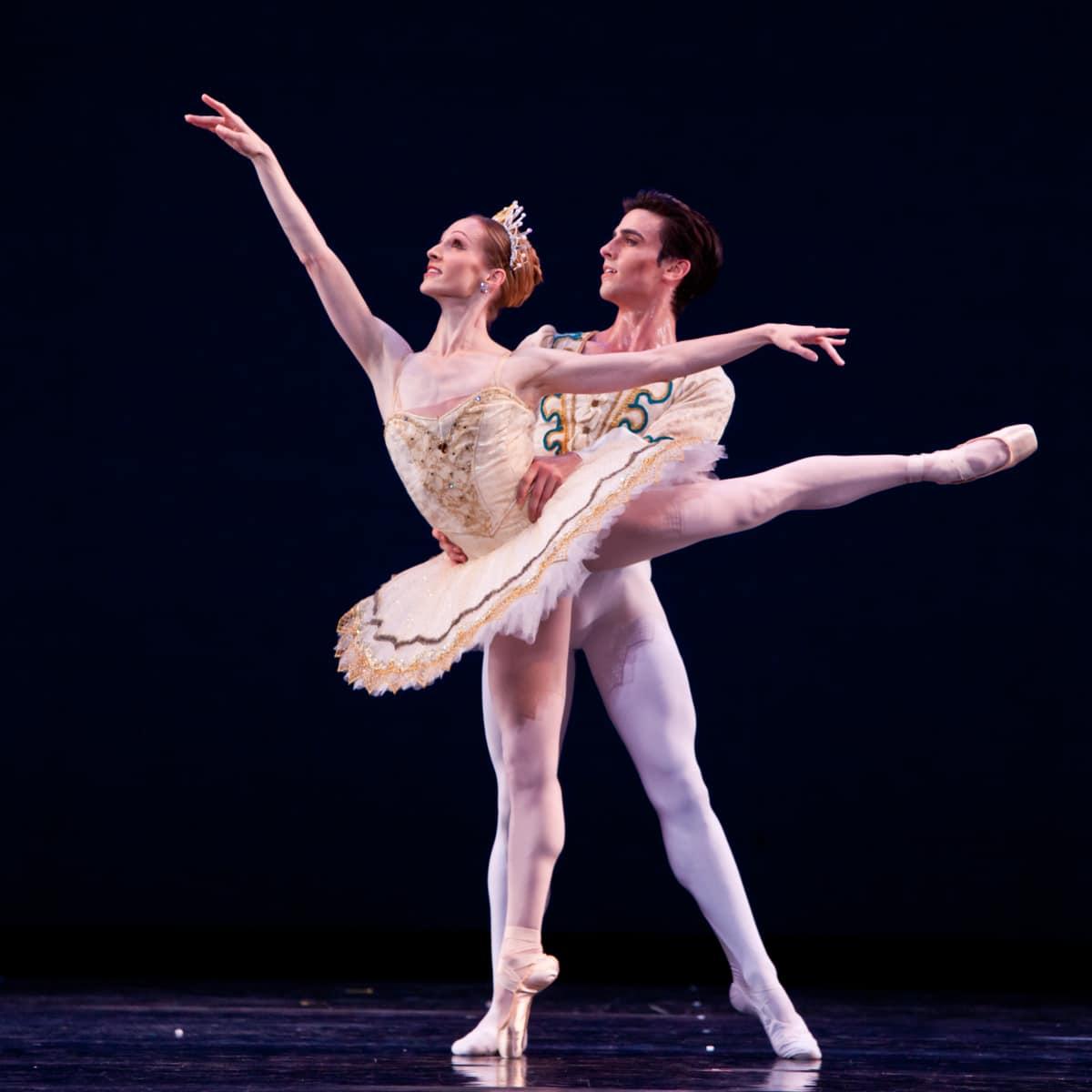 Houston Ballet George Ballanchine Theme and Variations, Sara Webb, Joseph Walsh