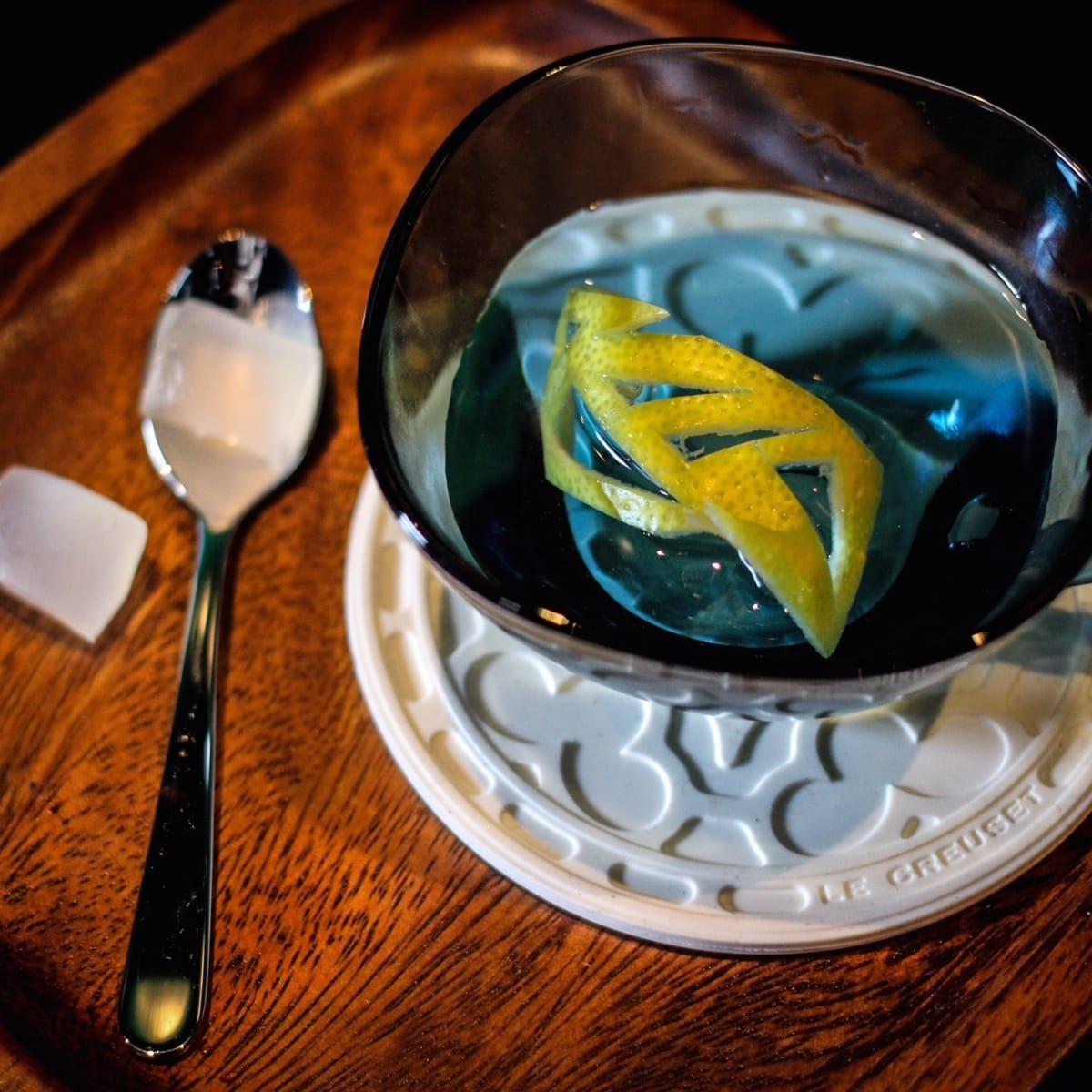 Canard Lyan and Unicorn cocktail
