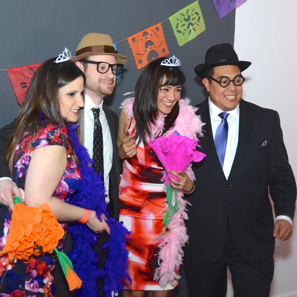 Center for Contemporary Craft, Margarita Madness, Jan. 2016, Erika Garza, Michael Loomis, Adriana Tristan, and Mark Alcocer