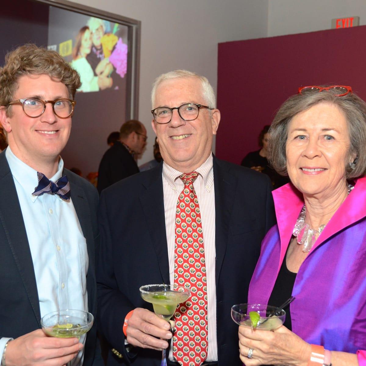 Center for Contemporary Craft, Margarita Madness, Jan. 2016, Perry Price, Richard Rabinow, Kathryn Rabinow