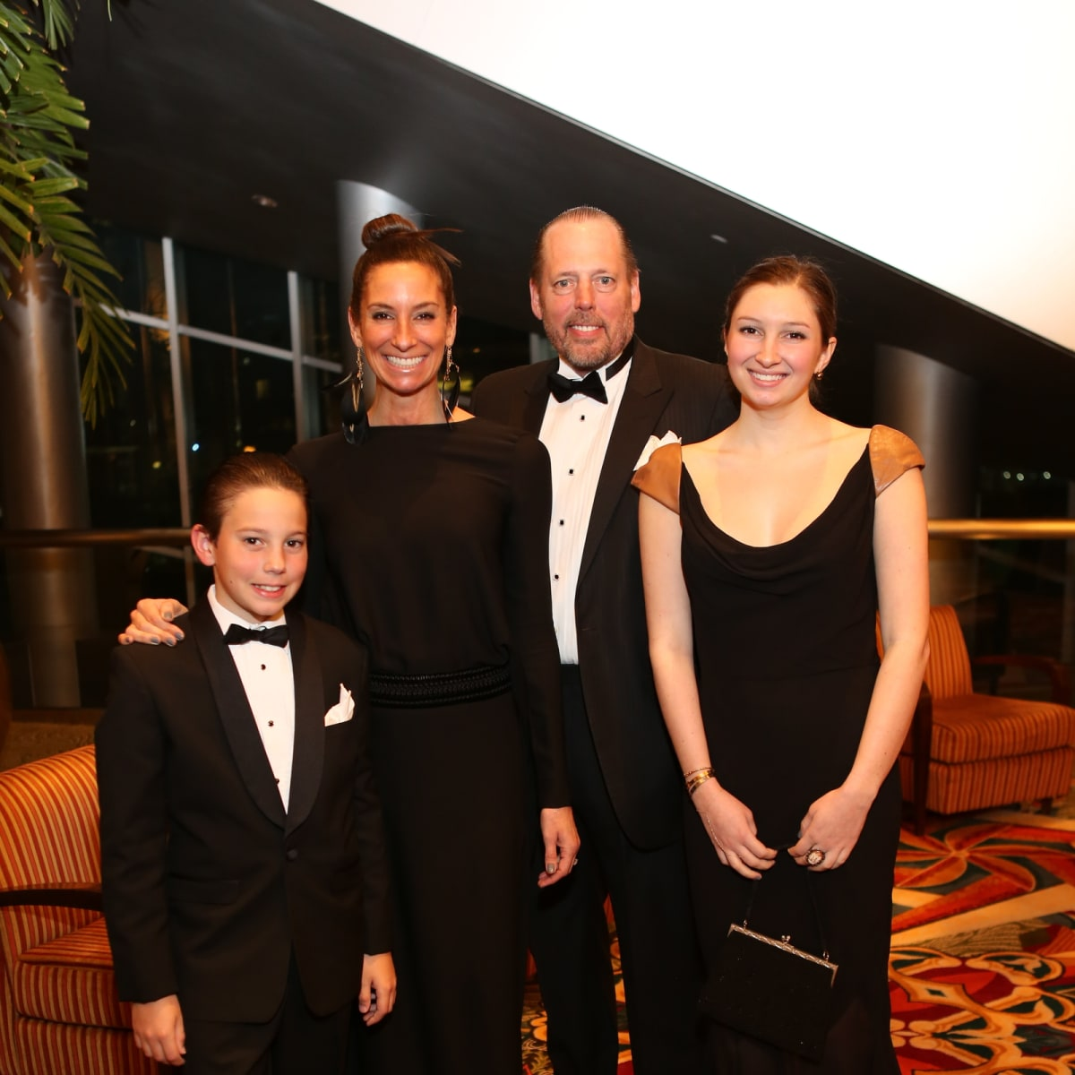 Winter Ball, Jan. 2016 Hudson, Lisa, Michael, Pia Holthouse
