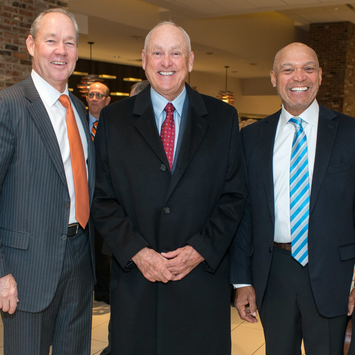 Astros Diamond Gala, Jan. 2016, Jim Crane, Nolan Ryan, Reggie Jackson