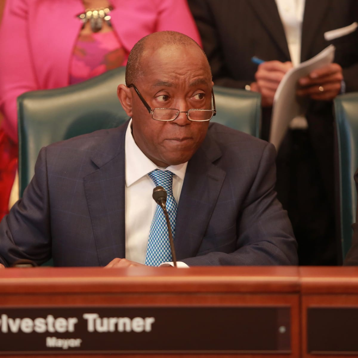 News, Sylvester Turner in Council, Jan. 2016