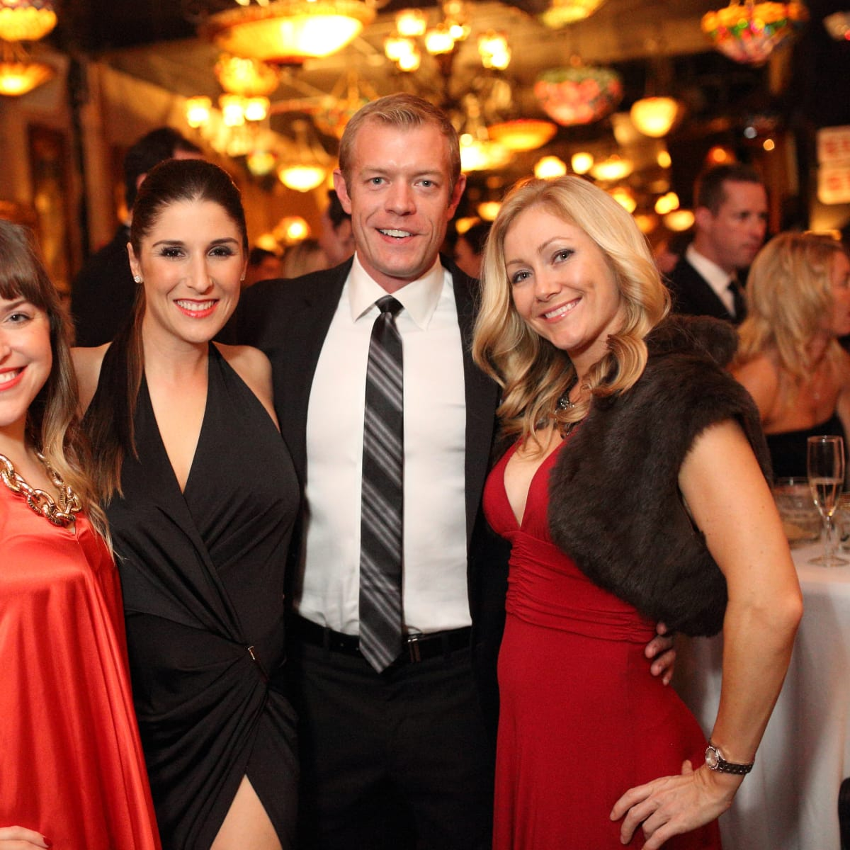 News, Homemade Hope party, Dec. 2015, Jennifer Palladina, Brittany Herbert, Blake Culp, Jenny Craven.