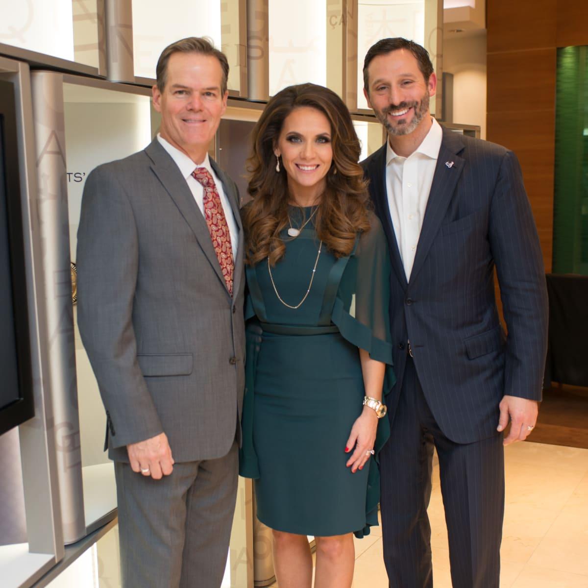 News, IW Marks Rolex Event, Dec. 2015, Jeff Cotton, Joanna Marks, Brad Marks